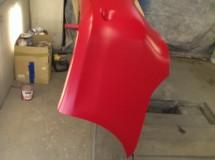 Первый слой водоэмульсионной краски Onyx RM