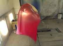 Нанесение первичной краски для выравнивания цвета
