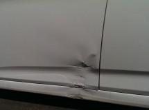 Ремонт и покраска двери, порога и бампера Hyundai Solaris