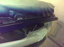 Покраска крышки багажника
