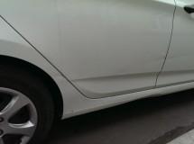 Ремонт порога, дверей, крыла и бампера Hyundai Solaris