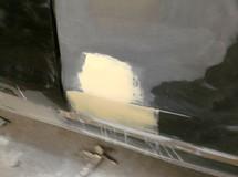 Покраска двери Форд